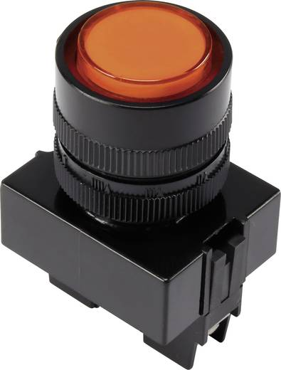 LED-Signalleuchte Orange 12 V/DC TRU COMPONENTS Y090E-DS/O/12V