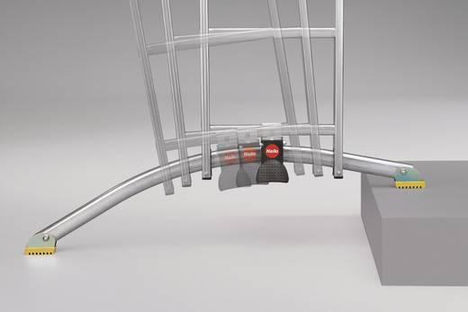 Aluminium Mehrzweckleiter Arbeitshöhe (max.): 5.90 m Hailo ProfiLine trio 9308-551 Silber 19 kg