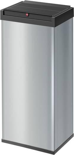 Mülleimer 60 l Hailo Big-Box Swing 60 (B x H x T) 340 x 720 x 260 mm Silber Selbstschließender Schwingdeckel 1 St.