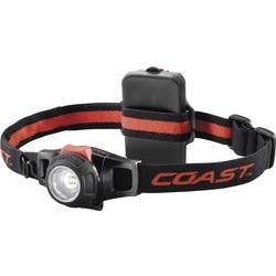 LED čelovka Coast HL7 140116, na batérie, 125 g, červená, čierna
