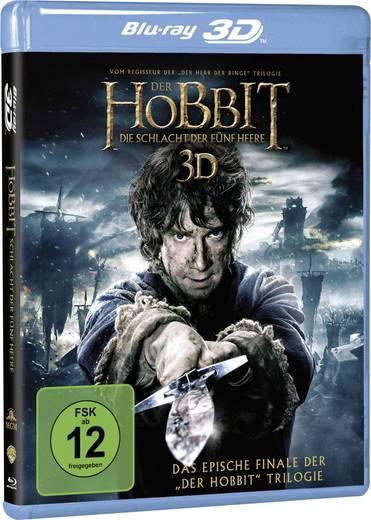 blu-ray 3D Der Hobbit: Die Schlacht der fünf Heere FSK: 12