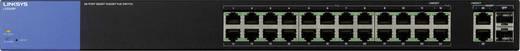Netzwerk Switch RJ45 Linksys LGS326P-EU 24 + 2 Port 1 Gbit/s PoE-Funktion