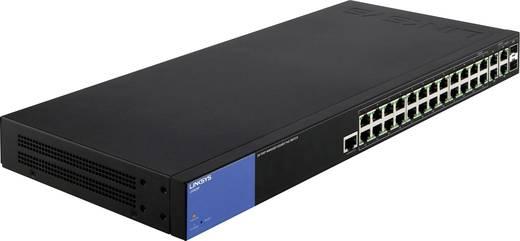 Netzwerk Switch RJ45/SFP Linksys LGS528P-EU 26 + 2 Port PoE-Funktion