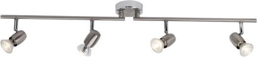 Deckenstrahler LED GU10 10 W Brilliant Wesley G54832/77 Eisen, Chrom