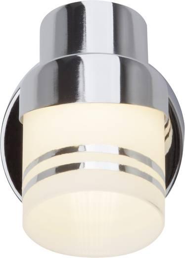 LED-Wandleuchte 5 W Warm-Weiß Brilliant Heda G36810/77 Chrom, Eisen