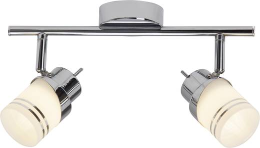 LED-Deckenstrahler 10 W Warm-Weiß Brilliant Heda G36813/77 Chrom, Eisen