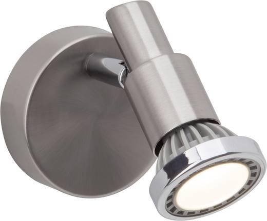 Wandstrahler GU10 3 W LED Brilliant Ryan G57410/77 Eisen, Chrom
