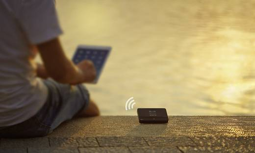 TP-LINK M7350 Mobiler 4G-WLAN-Hotspot bis 10 Geräte 150 MBit/s mit microSD-Kartenslot Schwarz