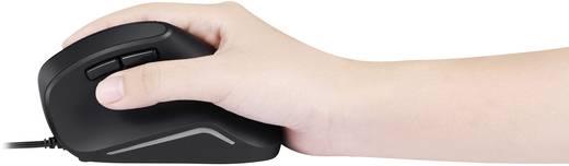 USB-Maus Optisch Perixx Vertikal Perimice-515 II Ergonomisch Schwarz