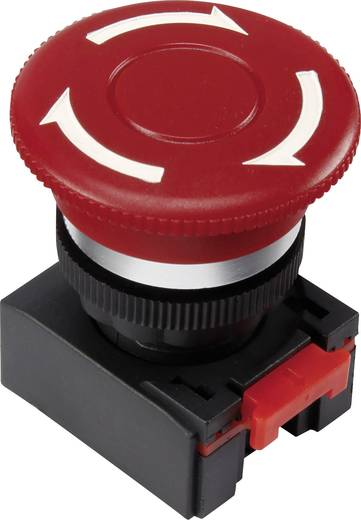 Not-Aus-Schalter Rot Drehentriegelung TRU Components LAS0-K-TSA 1 St.