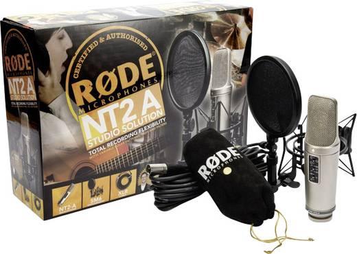 Studiomikrofon RODE Microphones NT2-A Übertragungsart:Kabelgebunden inkl Spinne, inkl. Kabel