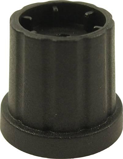 Drehknopf Schwarz (Ø x H) 19.3 mm x 19.2 mm Cliff CL178883 1 St.