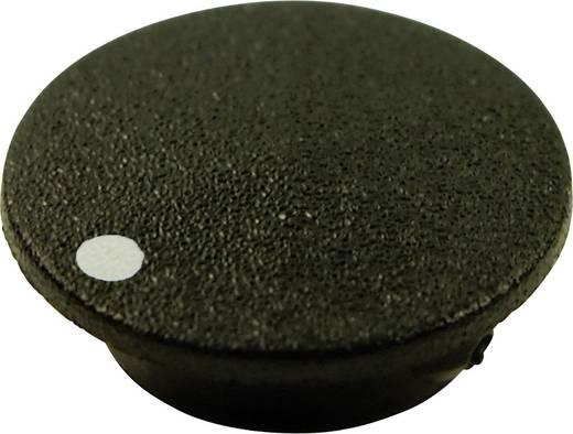 Abdeckkappe mit Punkt Schwarz Passend für Drehknöpfe K21 Cliff CL1745 1 St.