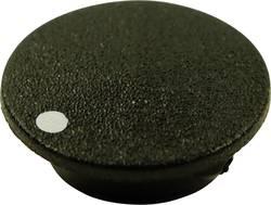 Couvercle avec point Cliff CL1745 noir Adapté pour Boutons K21 1 pc(s)