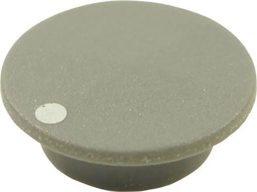Abdeckkappe mit Punkt Grau Passend für Drehknöpfe K21 Cliff CL1750 1 St.