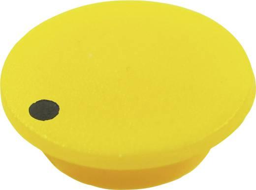 Abdeckkappe mit Punkt Gelb Passend für Drehknöpfe K21 Cliff CL1752 1 St.