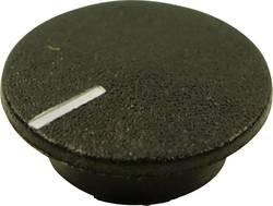 Couvercle avec pointeur Cliff CL1764 noir Adapté pour Boutons K21 1 pc(s)