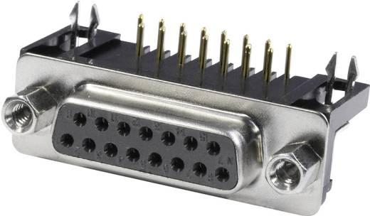 D-SUB Buchsenleiste 90 ° Polzahl: 37 Lötpins econ connect BU37WB/9 1 St.