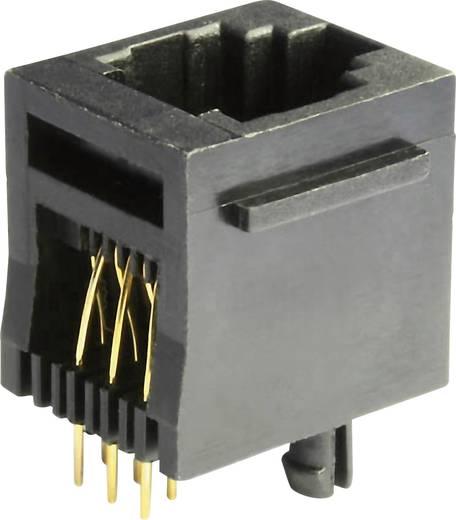 Modular Einbaubuchse Buchse, Einbau vertikal MEB6/6PST Schwarz econ connect MEB6/6PST 1 St.