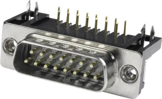 D-SUB Stiftleiste 90 ° Polzahl: 25 Lötpins econ connect ST25WB/9G 1 St.
