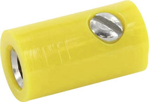 Laborbuchse Kupplung, gerade Stift-Ø: 2.6 mm Gelb econ connect HOKGE 1 St.