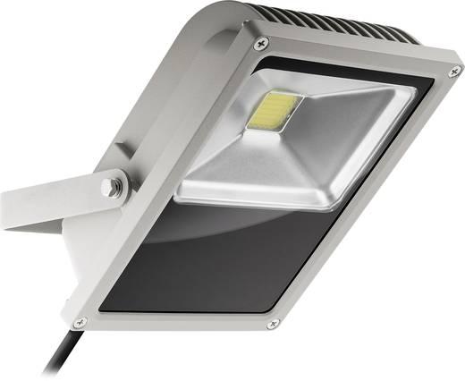 LED-Außenstrahler 50 W Warm-Weiß Goobay 30644 Grau