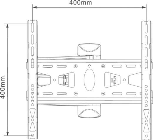 """Mount Massive MNT 208 TV-Wandhalterung 81,3 cm (32"""") - 139,7 cm (55"""") Neigbar+Schwenkbar"""