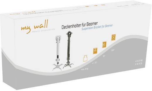 Beamer-Deckenhalterung Neigbar, Drehbar Boden-/Deckenabstand (max.): 69 cm My Wall H16-8SL Schwarz