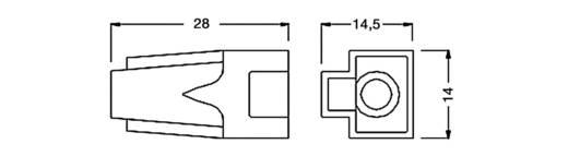Knickschutz für MPL8/8RG Knickschutztülle KSM8SW Schwarz econ connect KSM8SW 1 St.