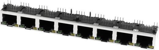 Multiport 8xRJ45 LED Buchse, Einbau horizontal M8LA8G1 Metall econ connect M8LA8G1 1 St.