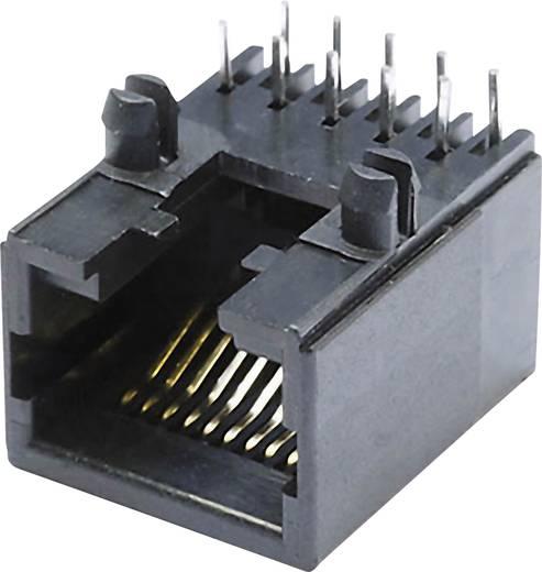 Modular-Einbaubuchse Buchse, Einbau horizontal MEB10/10PL Schwarz econ connect MEB10/10PL 1 St.