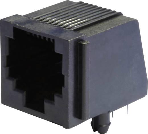 Modular-Einbaubuchse Buchse, Einbau horizontal MEB8/8P Schwarz econ connect MEB8/8P 1 St.