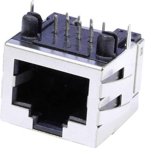Modular-Einbaubuchse Buchse, Einbau horizontal MUB88A Metall econ connect MUB88A 1 St.
