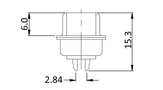 D-SUB Stiftleiste 180 ° Polzahl: 15 Lötkelch econ connect ST15LK/V 1 St.