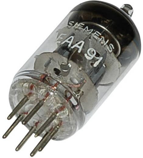 Elektronenröhre EAA/EB 91 = 6 AL 5 Doppeldiode 420 V 9 mA Polzahl: 7 Sockel: Miniatur Inhalt 1 St.
