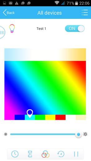 Sygonix Sygonix LED-Leuchtmittel WiFi Zigbee Gateway E27 7.5 W RGBW