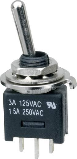 Interrupteur à levier 1 x On/On SCI MTE102A1 250 V/AC 3 A permanent 1 pc(s)
