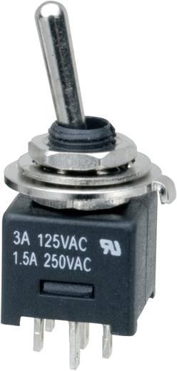 Kippschalter 250 V/AC 3 A 2 x Ein/Ein SCI MTE202A1 rastend 1 St.
