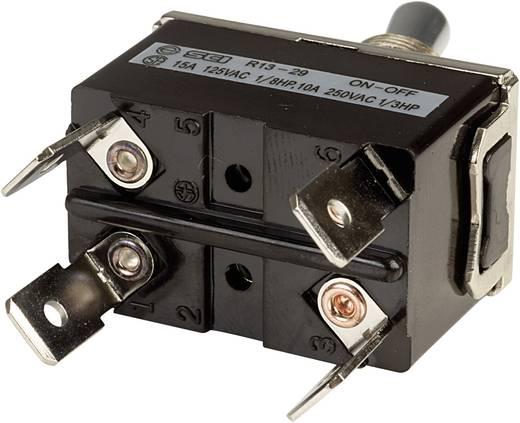 Kippschalter 250 V/AC 10 A 2 x Aus/Ein SCI R13-29F rastend 1 St.