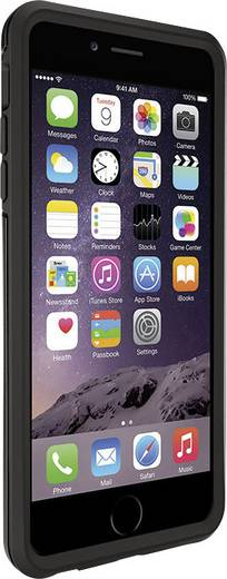 iPhone Outdoorcase Otterbox Symmetry Case Passend für: Apple iPhone 6 Plus, Apple iPhone 6S Plus, Schwarz
