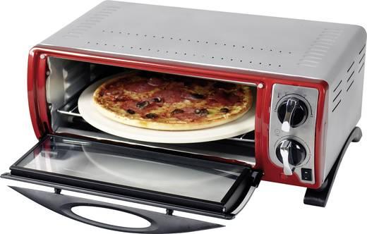 Minibackofen mit Grillstein, mit Pizzafunktion, mit manueller Temperatureinstellung EFBE Schott SC MBO 1000 R 13 l