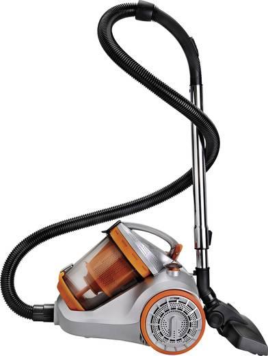 Staubsauger ohne Beutel EFBE Schott TKG VC 1010 1400 W Energieeffizienzklasse (A - G) B Orange (translucent), Orange (tr