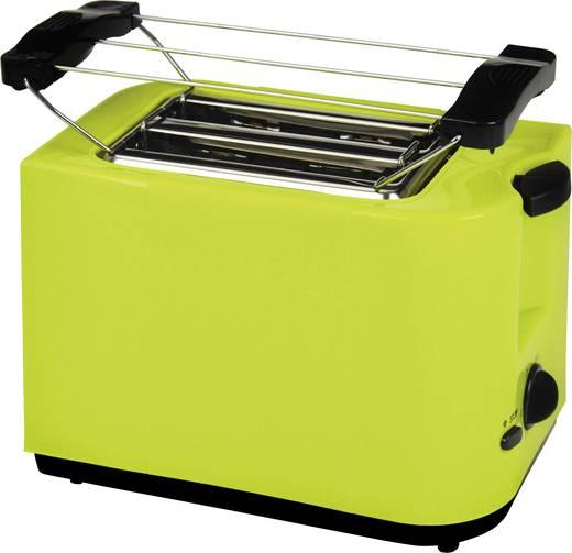 Toaster mit Brötchenaufsatz, mit manueller Temperatureinstellung EFBE Schott SC TO 5000 Lemon Hell-Grün
