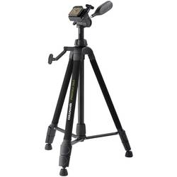 """Trojnohý statív Cullmann Primax 350, 1/4"""", min./max.výška 53.5 - 135.5 cm, čierna"""