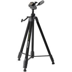 Trojnohý stativ Cullmann Primax 380, 1/4palcové, min./max.výška 62 - 159 cm, černá
