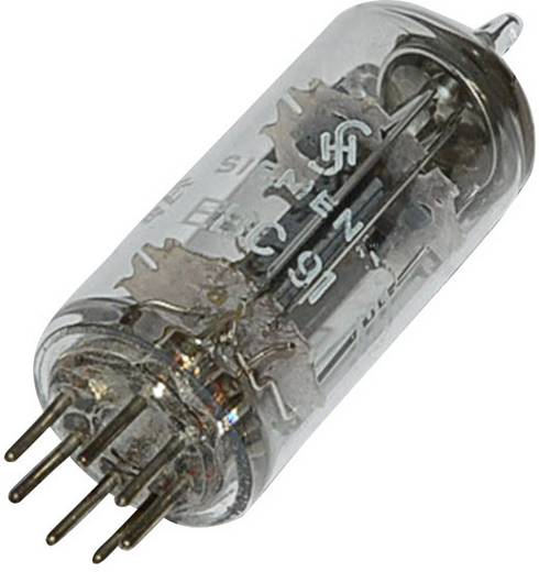 Elektronenröhre EBC 91 = 6 AV 6 Doppeldiode-Triode 250 V 1.2 mA Polzahl: 7 Sockel: B7G Inhalt 1 St.