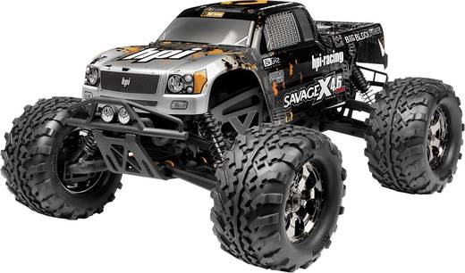 HPI Racing Savage X 4.6 1:8 RC Modellauto Nitro Monstertruck Allradantrieb RtR 2,4 GHz