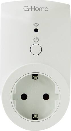 Chytrá spínací zásuvka ovládaná smartphonem G-Homa Smart Socket, s Wi-Fi