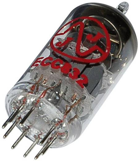 Elektronenröhre 12DW7/ECC832 Doppeltriode 100 V 0.5 mA Polzahl: 9 Sockel: Noval Inhalt 1 St.