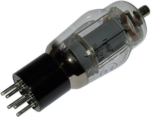Elektronenröhre 807 = QE 06/50 Strahlpentode 400 V 140 mA Polzahl: 5 Sockel: 5pin Medium Inhalt 1 St.